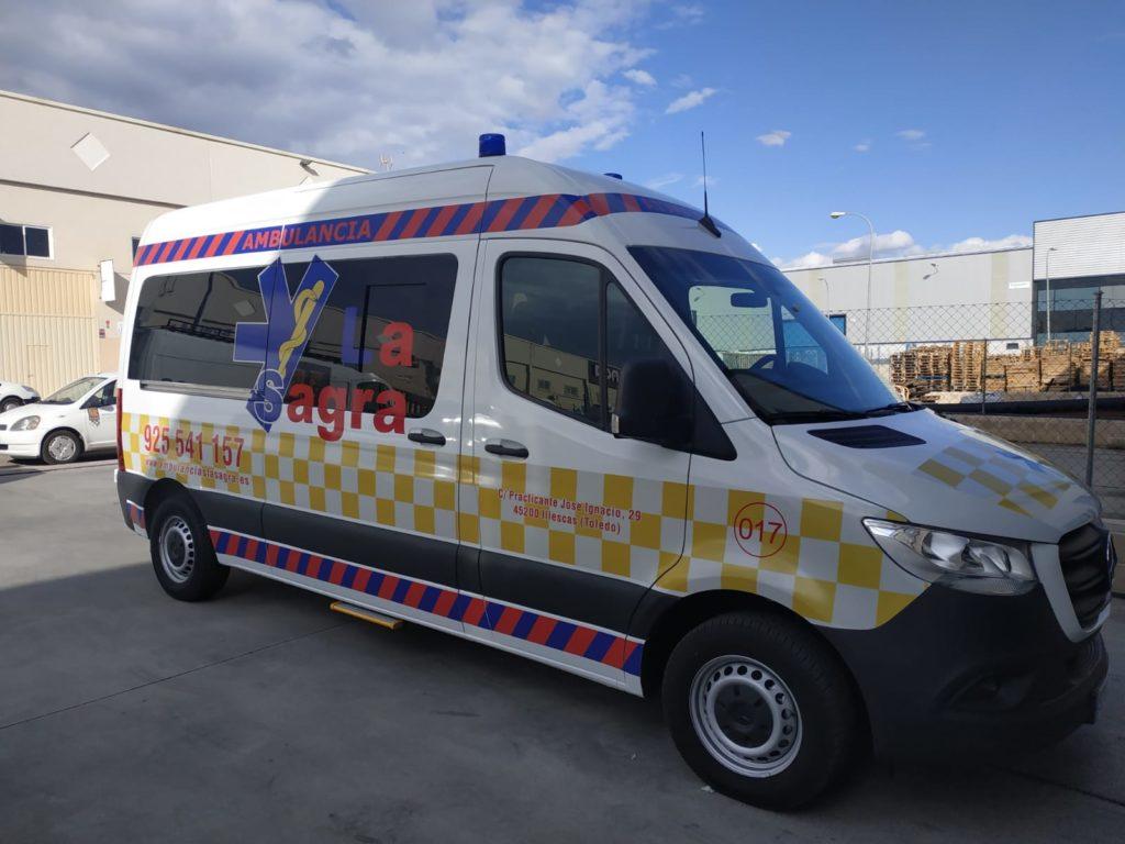 Servicio de traslados en ambulancia